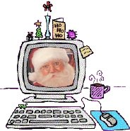 Email your Christmas wish to Santa and he'll reply faster than red-nose reindeer fly!